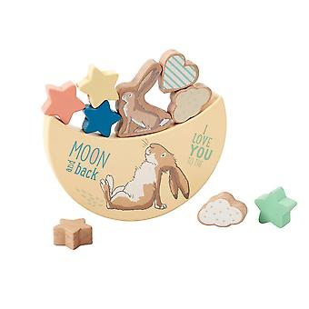 Rainbow Designs Guess How Much I Love You Wooden Balancing Toy