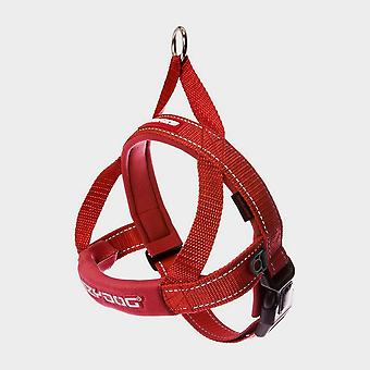 New EZY-DOG Quick Fit Harness (XL) Red