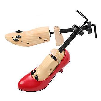 New brand shoe stretcher wooden shoes tree shaper rack,wood adjustable flats pumps boots expander trees size s/m/l man women