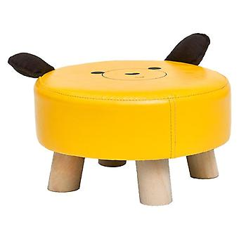 Animal Chair, Wood Kids Stools Shoes Sofa With Plush Cartoon Cover