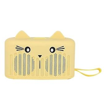 لاسلكي BT4.2 المتكلم لطيف المحمولة مصغرة الكرتون مضخم الصوت حامل الهاتف