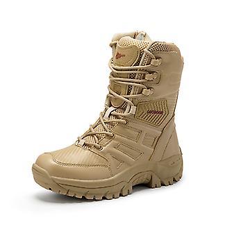 Hombres mantener botas deportivas calientes 9LC203 Amarillo