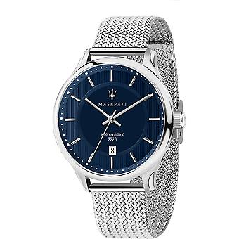Maserati R8853136002 Men's Gentleman Steel Mesh Wristwatch