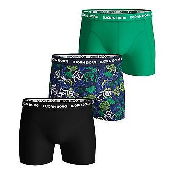 Björn Borg Mens Stark Blomma Sammy 3 Pack Comfort Boxers