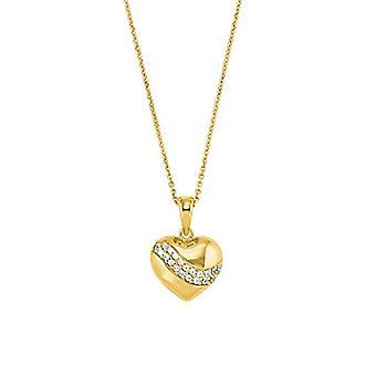 Liebe Halskette mit Damenanhänger, Sterling Silber 925, mit Zirkonen(7)