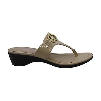 Marc Fisher Womens ariana Open Toe Casual Slide Sandals