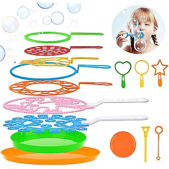 Seifenblasen Set für Kinder, 15 Stücke Seifenblasen Blase Zauberstab Seifenblasen für