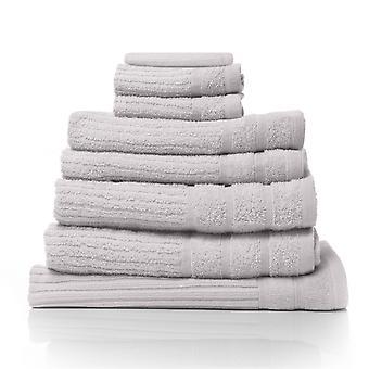 Royal Comfort Eden Egyptian Cotton 600GSM 8 Piece Luxury Bath Towels Set