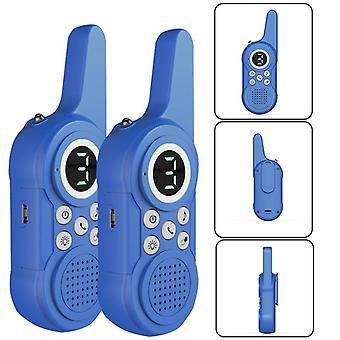 2Pcs لاسلكي لاسلكي talkie الأطفال في الهواء الطلق لعبة الاطفال الاتصال الداخلي آلة صغيرة