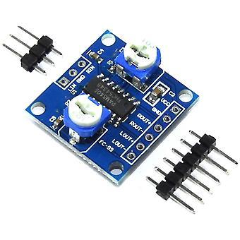 3pcs LC τεχνολογία PAM8406 10W μονάδα ενισχυτή ήχου διπλού καναλιού