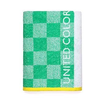 Telo mare Benetton Kids Cotton Curl tessuto (70 x 140 cm)