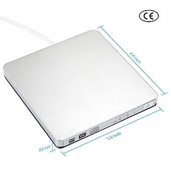 Usb ekstern slot i dvd-cd-drev brænder superdrive til windows xp/mac 10 os