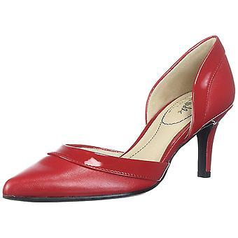 LifeStride Women's Shoes Saldana Suede Pointed Toe Classic Pumps
