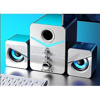 Altavoces altavoces de ordenador Bass Stereo Music Player Subwoofer Sound Box