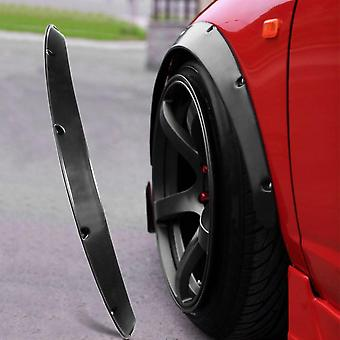 4pcs Universal Widened Jdm Fender Flares Wheel Arch 2 Inch Abs Car Fittings
