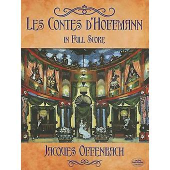 Les Contes DHoffmann in voller Partitur von Jacques Offenbach