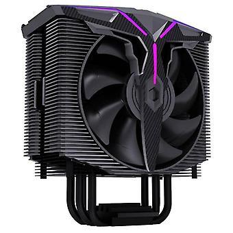 4 Lämpöputki Dual CPU Jäähdyttimen tuuletin Jäähdytin Intel775 115X 1366 AMD Jäähdytys Heatsink