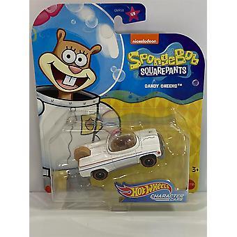 Hot Hjul Karakter Biler SpongeBob SquarePants Sandy Kinn GMR59