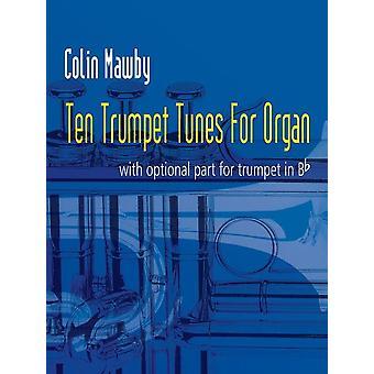Tio Trumpetlåtar för orgel