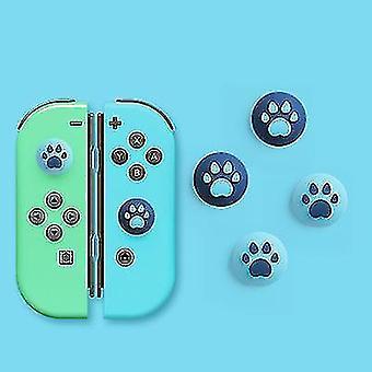 silikon katt klo tommel grep deksel, egnet for Nintendo Switch & lite, Joy-con controller (S2)