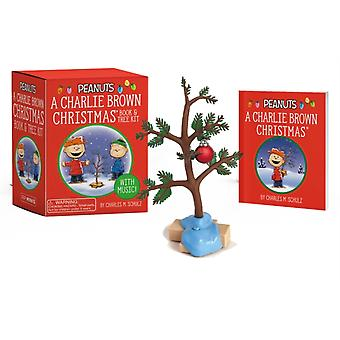 A Charlie Brown Christmas Book and Tree Kit  With Music by Charles M Schulz