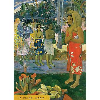 Eurographics La Orana Maria - Hail Mary, Gauguin Jigsaw Puzzle (1000 Pieces)