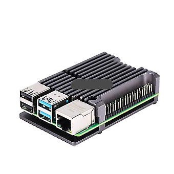 Aluminum Case Alloy Armor With Cooling Heatsink Dual Fan For Raspberry Pi..