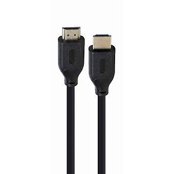 HDMI-kabel GEMBIRD 8K Ultra HD Hannplugg / Mannlig Plugg Svart / 1 m