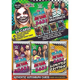 WWE Slam Attax 2021 Multipacks