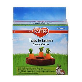 Kaytee Toss & Learn Morot spel - 1 pack - (4 stycken)
