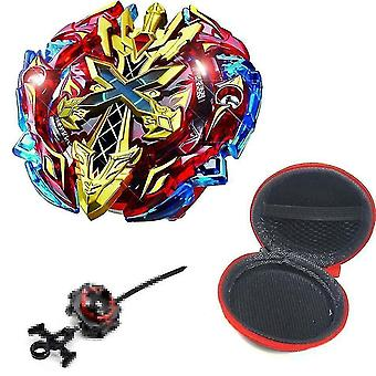 Spinning tops 5 beyblade burst sparking turbo b48 launcher  metal top gyro blade blade spinning fight toys b120