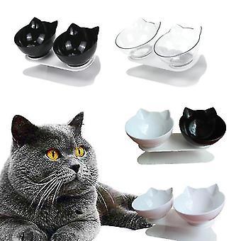 Halkfri dubbel kattmat och vattenskålar(A1)
