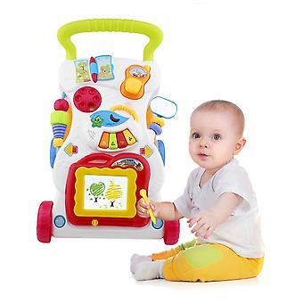 Baby Walker Multifuncțional Toddler Sit-to-stand Walker cu șurub reglabil