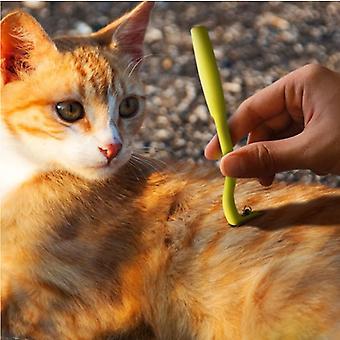 Ensemble de 3 tire-tiques pour chiens, chats, chevaux et autres animaux - Clip à tiques - Crochet à tiques - Traitement personnalisé