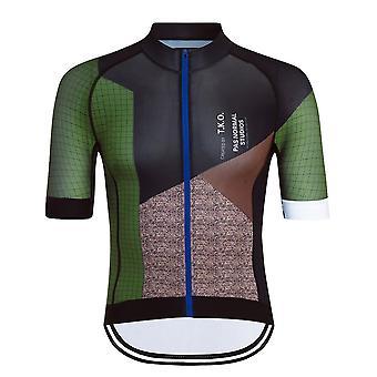 Men Cycling Jersey Set Mountain Bike Clothes Summer Short Sleeve Quick Dry Cycling Clothes Tiathlon Sportswear