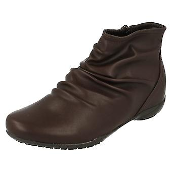Dames tot aarde Casual Ankle Boots F50675