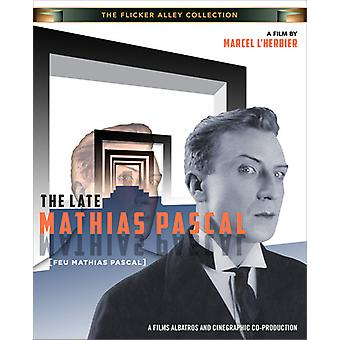 Late Mathias Pascal [BLU-RAY] USA import