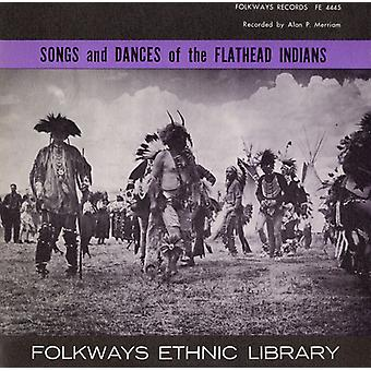 Songs & Dances of the Flathead Indians - Songs & Dances of the Flathead Indians [CD] USA import
