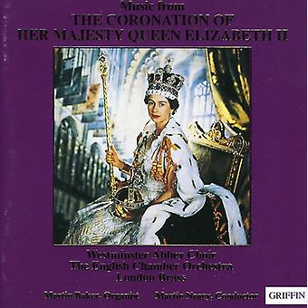 Westminster Abbey Choir - Music From the Coronation of Her Majesty Queen Elizabeth II [CD] USA import