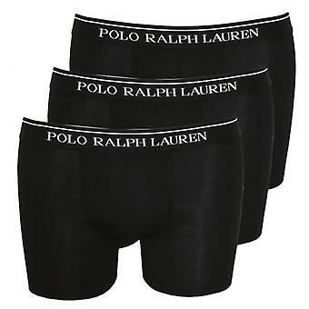 Polo Ralph Lauren Classic Boxer 3er-Pack Slips, schwarz