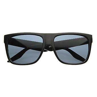Casual Shades Menswear Plastic Flat Top Horn Rimmed Style Sunglasses Eyewear