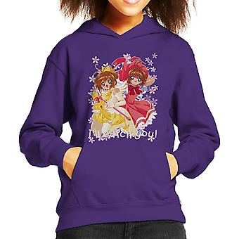Cardcaptor Sakura Ill Catch You Kid's Hooded Sweatshirt