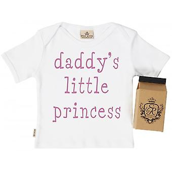 Spoilt Rotten Daddy's Little Princess Toddler T-Shirt 100% Organic Cotton