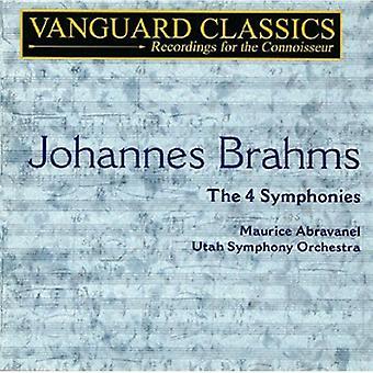 J. Brahms - Brahms: The 4 Symphonies [CD] USA import