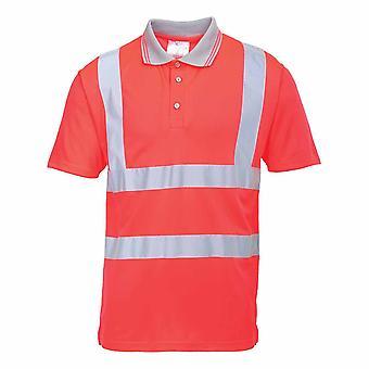 sUw - Hi-Vis Sicherheit Arbeitskleidung Short Sleeve Polo
