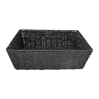 Medium svart pappersfacket rep