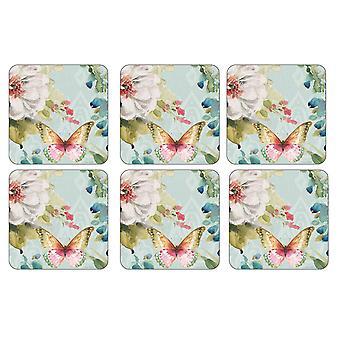 Pimpernel Colourful Breeze Coasters, Set of 6