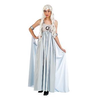 Drottning av spel Princess damer kostym Maxi dress damer kostym Queen