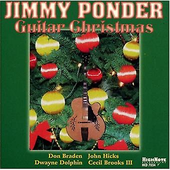 Jimmy Ponder - Guitar Christmas [CD] USA import