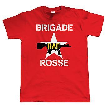 Brigade Rosse, Mens Punk Rock Retro Band T Shirt - Som bärs av Joe Strummer